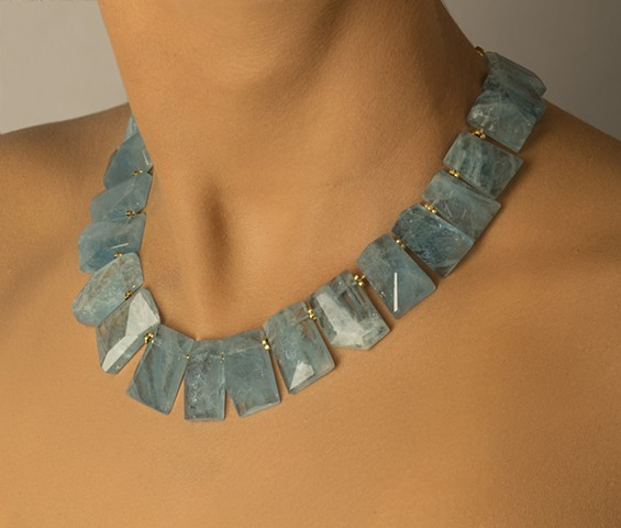 Aquamarine Collar