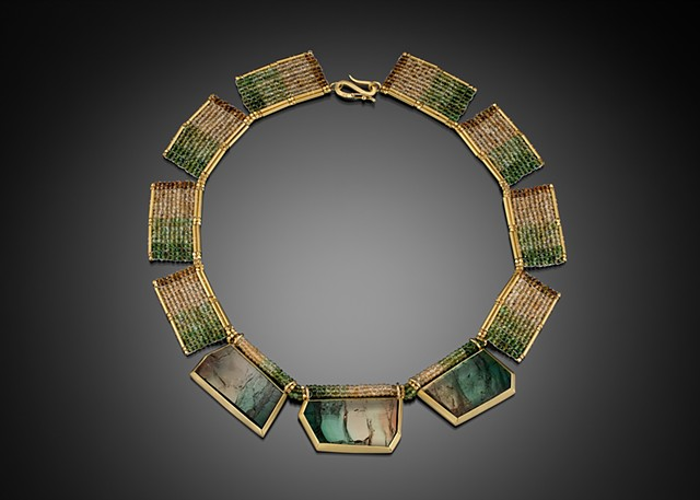 Multi-Color Tourmaline Collar