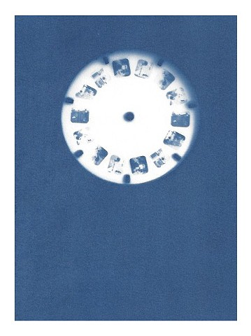 Cyanotype Archive: Snow White View-Master