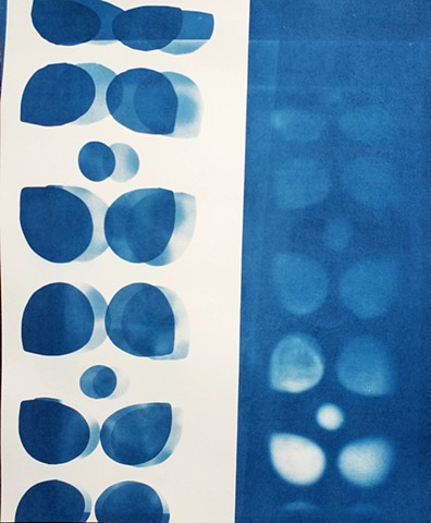 Infinite House - Cyanotypes