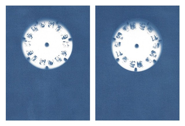 Cyanotype Archive: Princess View-Master Reels