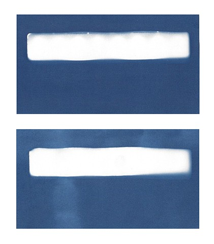 Cyanotype Archive: White Paint Trays
