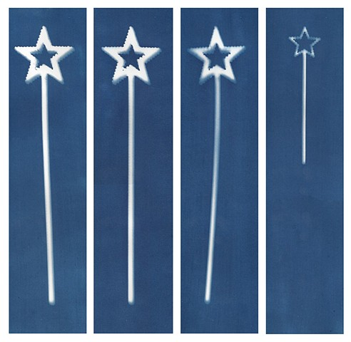 Cyanotype Archives: Star Wands