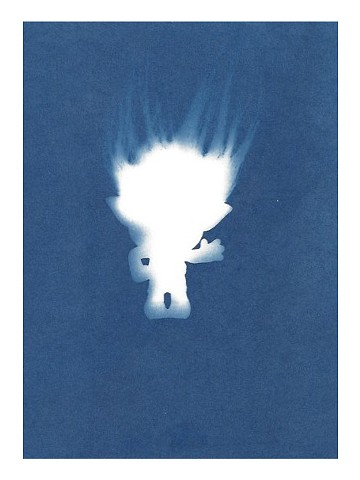 Cyanotype Archive: Branch Troll