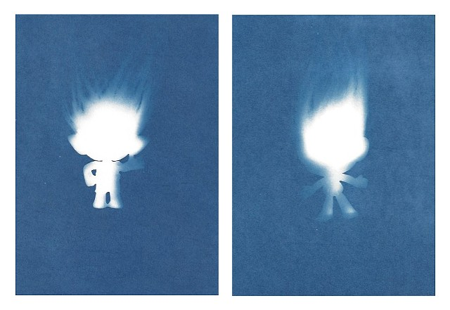 Cyanotype Archives: Male Trolls