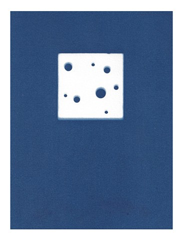 Cyanotype Archive: Toy Cheese