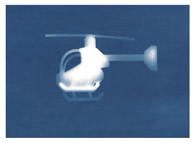 Cyanotype Archive: Helicopter