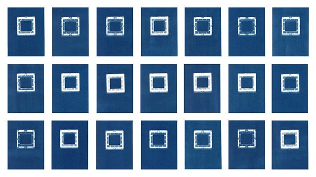 Cyanotype Archive: Hollow Square Playmags