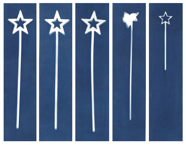 Cyanotype Archives: Magic Wands