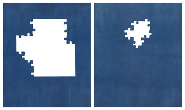 Cyanotype Archive: Princess Puzzle
