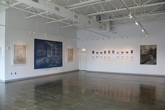 """Memory Architecture"" at Fahm Gallery, Savannah GA. May/June 2012"