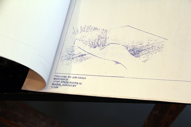 Blueprint Book (detail)