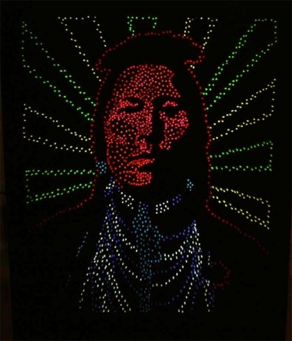 In Search of Heroes (Lite Brite NDN)