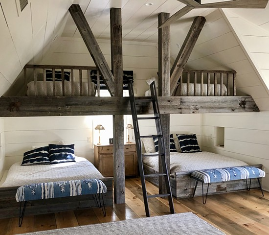 FARMHOUSE, BUNK ROOM