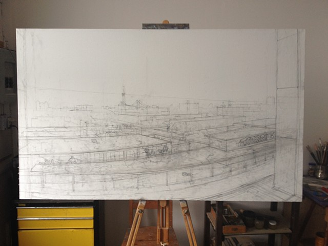 Cityscape in progress 2