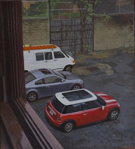 Two Cars and a Van