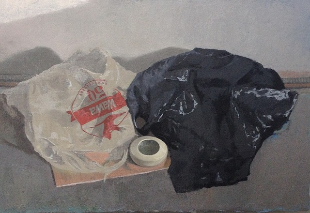 Still Life with Plastic Bags