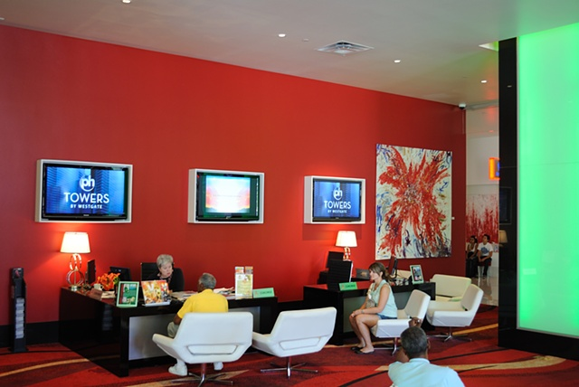PH Towers Lobby, Las Vegas