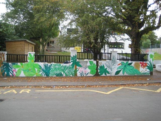 Mural, Cherubins Day Nursery, London
