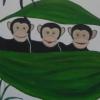 Mural, Cherubins Day Nursery, London (detail)