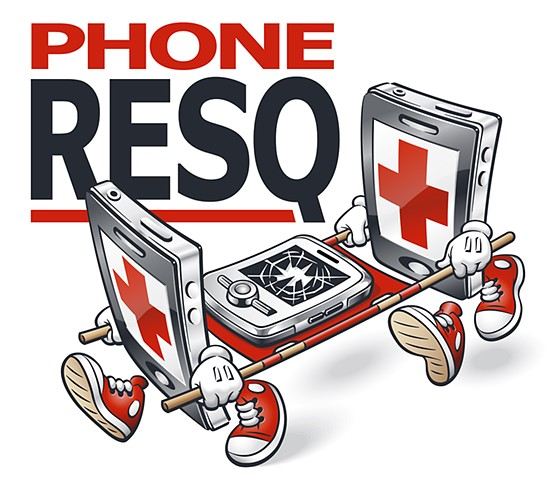 logo for Phone ResQ by Phill Flanders