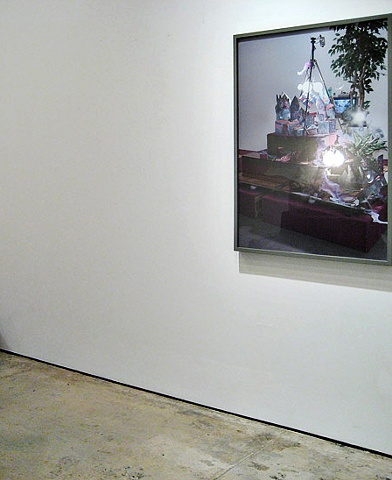 Installation view of photograph at Marvelli Gallery