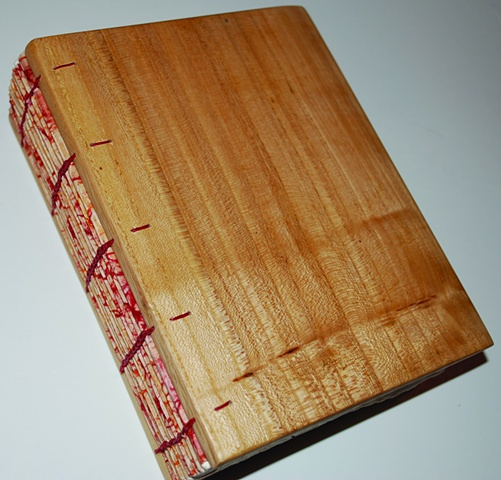 Elm board coptic book