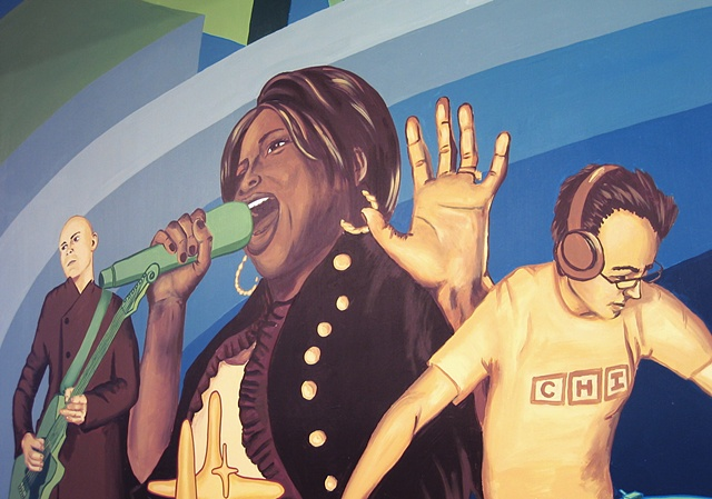 Columbia College: Music Mural