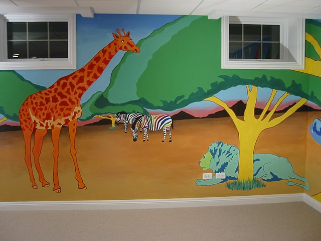Child's Playroom: South African Jungle