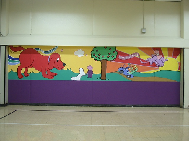 Lunchroom Mural: Children's Literature