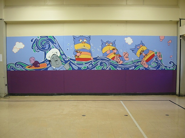 Lunchroom Mural: Children's Literatur
