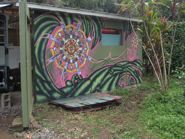 Art Farm: Mandala Mural