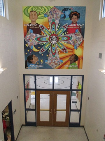 Peace Mural at Willard School