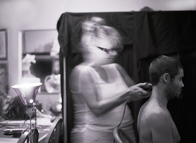"Olivia Callender© ""Morgan's Haircut"", Winter 2013"