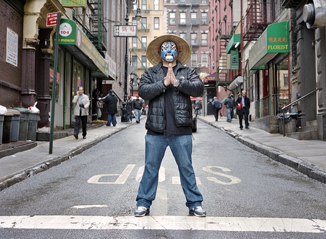 Daren as China Town Man