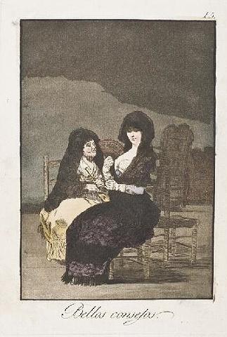 Francisco de Goya's Pretty Teachings