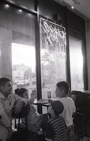 "Olivia Callender© ""Children & Pizza"" Brooklyn, NY, 2013"
