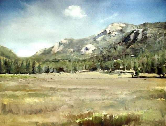"""Colorado. Rocky Mountain National Park  24""""x32"""" Oil"""