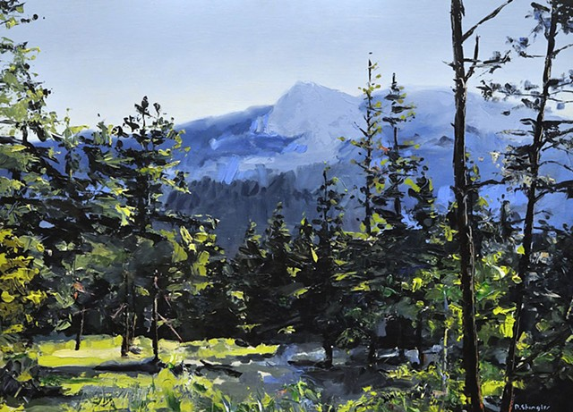 "Colorado. Rocky Mountain National Park  21""x29"" Oil"