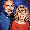 "'Portrait'  16""x20"" Oil on wood"