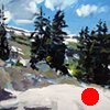 """'Above Tree Line, Holy Cross Wilderness, CO'  20""""x24"""" Oil on wood"""
