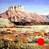 """Utah. Moab   21""""x27"""" Oil"""