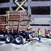 "'Unloading Truck'  24""x32"" Oil on wood"