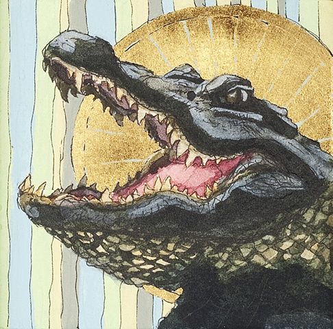 Saintly Alligator