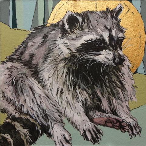 Roadkill Reverence Raccoon