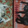 Cat Panel Diptych