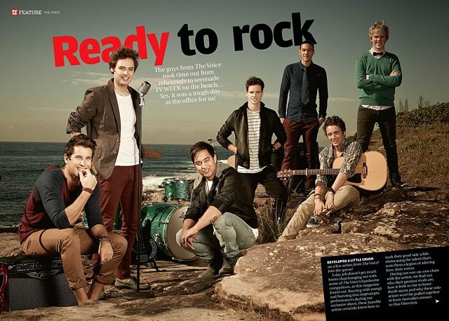TV Week - The Voice Australia 2012
