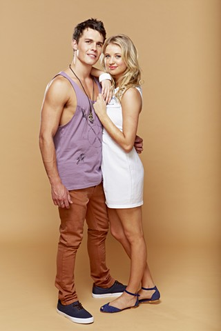 Andrew Morley and Kassandra Clementi: Home and Away