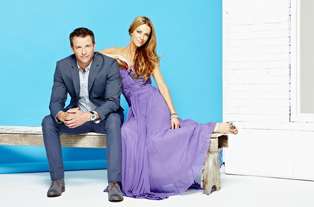 TV Week - Home and Away 25 Year Reunion: Luke Jacobz and Esther Anderson