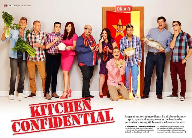 TV Week - My Kitchen Rules: Season 5, Top 5 couples